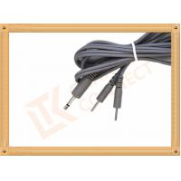 Quality 3.5 TO 2.0 2 Pin Y Type Tens Unit Cables Medial Tens Unit Leads for sale