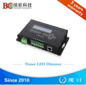 Quality 6A * 4 channels LED aquarium light controller DC 12V 36V programmable led plant light dimmer controller for sale