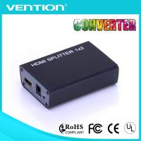 High Speed Female to Female HDMI Splitters Support 3D 1080p 1 in 2 Gold Plated Connector Full HD for sale
