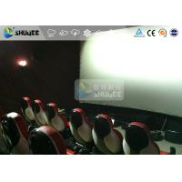 Buy Interaction Reality 7D Movie Theater With Red Fiber Glass Motion Seats at wholesale prices