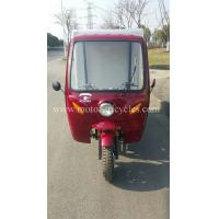 Quality 163FML Engine Adult 3 Wheel Covered Motorcycle Commercial Tricycles OEM for sale