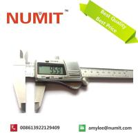 Quality Stainless Steel Metal Casing Silver Electronic Digital Caliper With Battery 3V for sale