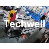 Quality Square / Round Mobile Downpipe Forming Machine / Cold Roll Forming Machine for sale