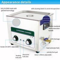 Quality 10L Instrument Mechanical Ultrasonic Cleaner For Electronic Components for sale