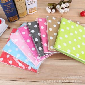 China Customization Fancy Paper Napkins Disposable Color Paper Napkins on sale