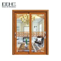 Buy cheap Sound Proof Aluminium Sliding Patio Doors For Supermarket TUV Certificate from wholesalers
