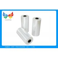 Quality 78% Shrinkage 40MIC Clear PET Shrink Films For Shrink Sleeve Labels Material for sale