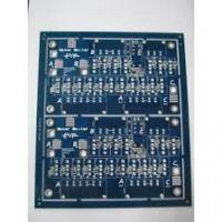 Quality Lead free HASL Blue Double sided PCB circuit boards 2.0MM Thickness , 2 oz ( 70 um ) for sale