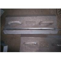 Quality Pearlitical Cr-Mo alloy steel lifting bars with 430mm long insert in the rubber for sale