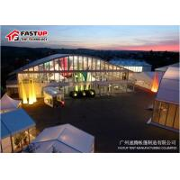 China High Reinforce Frame Clear Span Tent For Conferences Tear Resistant on sale