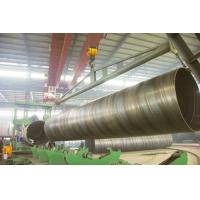 Quality black round BG SSAW Steel Pipe Large Diameter with X56 X70 , St52 St42 St45 Grade for sale