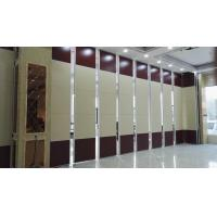 Quality Operable Wall Sliding Aluminium Track Folding Soundproof Wall Partition for Ballroom for sale