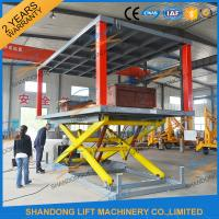 Quality Hydraulic Electric Type Portable Fixed In Ground Car Lift For Parking With CE for sale