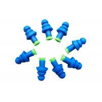 China Airline Travel Noise Cancelling Ear Plugs , Reusable Ear Plugs For Swimming on sale
