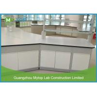 China Commercial Metal Laboratory Furniture , Chemical Biology Science Laboratory Tables on sale