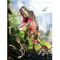 Quality Dinosaur 3D Decoration Pictures 0.75mm Thickness Environmentally Friendly for sale