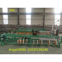 Quality 2m-4m Width Full Automatic Single Wire feeding Chain Link Fence Machine Manufacturer for sale