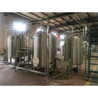 Buy 10Bbl Brewhouse Craft Beer Brewing Equipment Direct Fire Heating Stainless Steel at wholesale prices