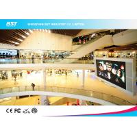 Quality 1920Hz P4.8mm Indoor Full Color Led Screen Video Wall Panel , with 250mmX250mm module for sale