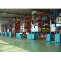 Quality High Capacity Storage Pallet Warehouse Racking / Selective Pallet Racking System for sale