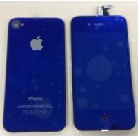 Quality Apple IPhone 4S Repair Parts Metallic Blue Conversion Kit Replacement with Back Cover  for sale