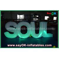 Quality Giant Inflatable Letters Make To Order Company Name Logo Desgin for sale
