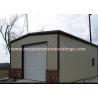 Fireproof Steel Pre Engineered Buildings , Heavy Warehouse Steel Structure for sale