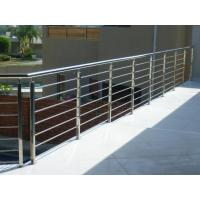 Quality House stainless steel balcony railing design & stainless steel inox rod railing for sale