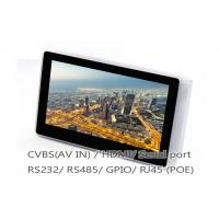 Quality Smart Industrial Touch Panel PC / 7 Inch Android POE Tablet With Ethernet RJ45 for sale