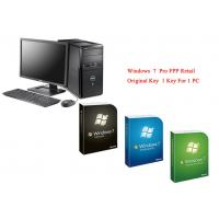 Quality Microsoft Windows 7 Pro Pack Online Activate Customizable FQC Genuine FPP Retail for sale