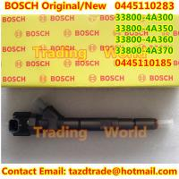 Quality BOSCH Original /New Injector 0445110283 / 3800-4A300/33800-4A350/33800-4A360/33800-4A370 for sale
