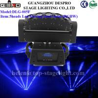 Quality 5heads led moving head disco stage lighting(RGBW) for sale