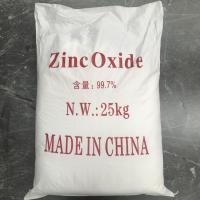 Quality Industry Grade Zinc Oxide Powder 99.7% Cas 1314-13-2 With ROSH Certificate for sale
