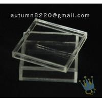 Quality BO (105) acrylic counter top display cases for sale