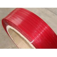 Quality red color polyester Strap for sale