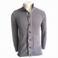 Quality IKRR Unisex Sweater in Gray, Fashionable Wear, Made of 100% Cotton for sale