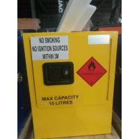 Quality Mini Steel Flame Proof Safety Storage Cabinets With Single Door for sale