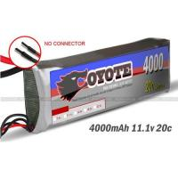 Quality RC li-po battery for helicopter.RC boat.RC Car 11.1V 4000mAh 20C for sale