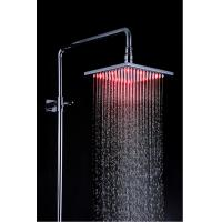 Quality Modern Stainless Steel Shower Head LED Light 200 x 200 x 10.5mm for sale