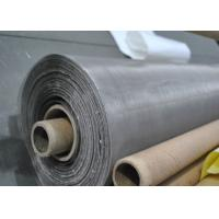 China 160 Micron 304N Stainless Steel Rotary Screen Printing Cloth For Glass Factory on sale