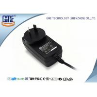 Quality CEC VI high Efficiency AU Plug Wall Mount Power Adapter 12V 1A For Game Player for sale