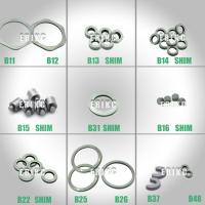 Quality ERIKC Bosch B11 B12 B13 B14 B16 B25 B31 600 pieces common rail injector ring fuel injector base shim  standard  washer for sale