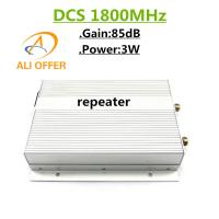5000sqm High Gain Power 85dB 3W DCS 1800MHz Mobile Repeater,3W GSM 1800 MHz Cellphone Signal Booster Amplifier for sale