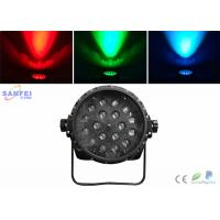 Quality 18*10W Full color RGBW LED Par Stage Lights , LED Scanner Llight for sale