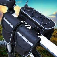 Quality 4 In 1 Mountain Biking Backpack, Cycling Riding Front Bag With Rain Cover for sale
