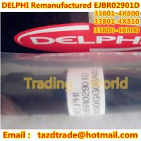 Quality DELPHI Original Remanufactured Injector EJBR02901D / 33800-4X800 /33801-4X810 /33801-4X800 for sale