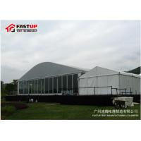 Commercial Grade Clear Span Tent Church Tent Temporary / Permanent Use for sale