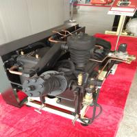 China 40 Bar Pressure Piston Air Compressor , Low Noise Oil Free Air Compressor on sale