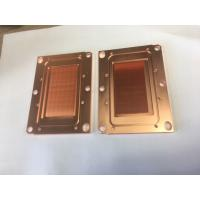 Quality Passivition / Nickel Plating Copper Base Plate Heat Sink Liquid Cooling Cold Plate For Servers for sale