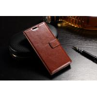 Quality Slim Fit Sony Xz Leather Case Wallet Crazy Horse PU For Drop Protection for sale